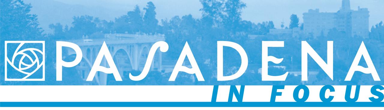 Image of Pasadena In Focus banner logo