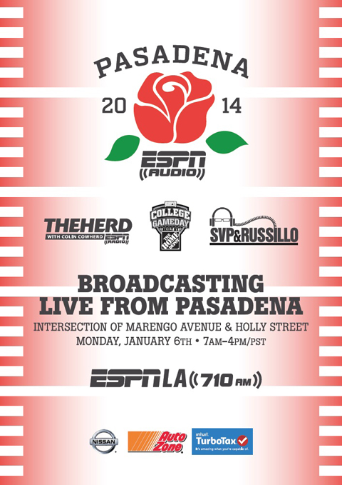 ESPN Radio BCS Flyer
