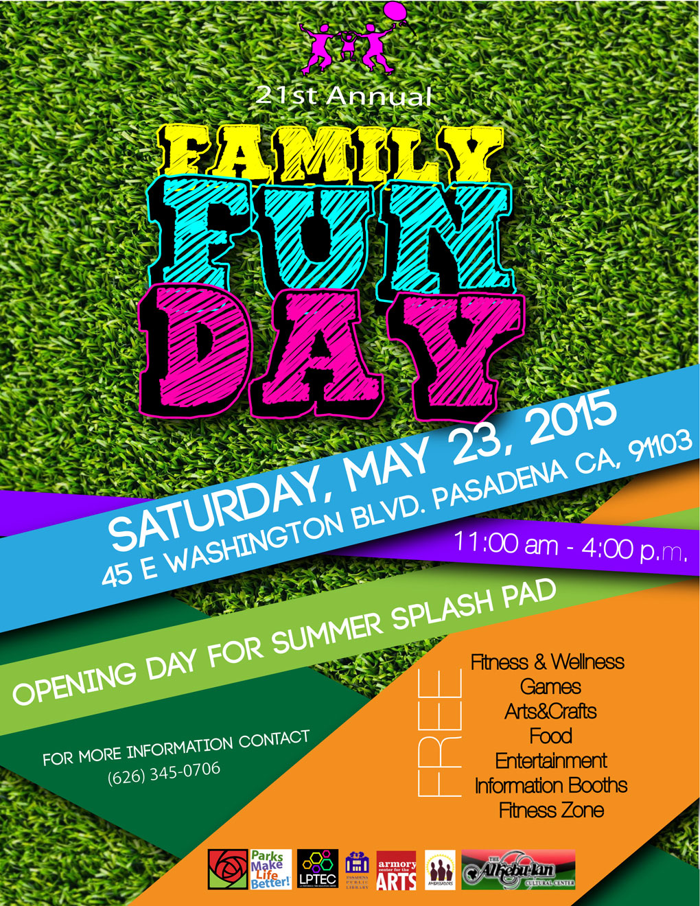 celebrate health and wellness at free family fun day may 23 2015 office of the city manager. Black Bedroom Furniture Sets. Home Design Ideas