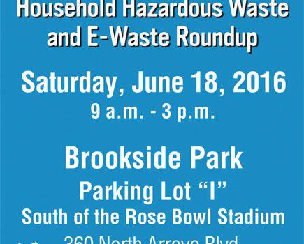 Household Hazardous Waste 2016