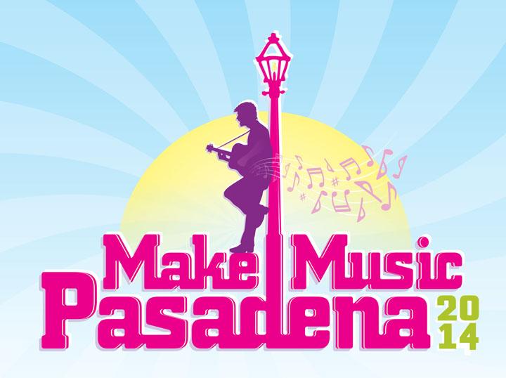 Make Music Pasadena Logo - 2014