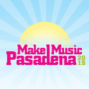 Make Music Pasadena 2015 logo
