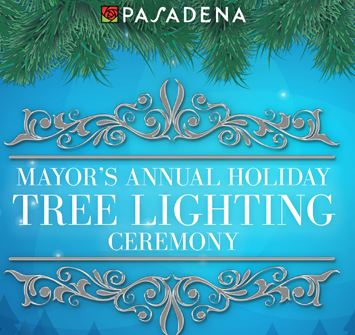 Mayor's Annual Holiday Tree Lighting 2015 logo