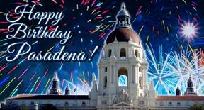 Pasadena Birthday 2015 Banner