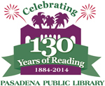 Public Library 130 years logo