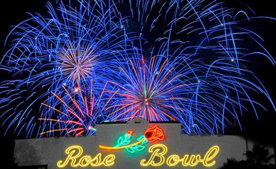 Rose Bowl Fireworks image