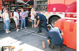 Community Emergency Response Team CERT Training Photo