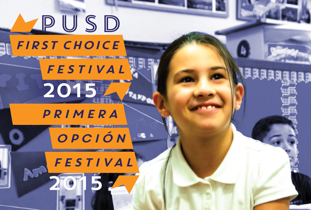 PUSD First Choice Festival 2015 in English and Spanish