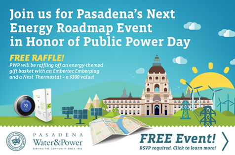 Pasadena Water and Power October 2014 Energy Roadmap Event Image