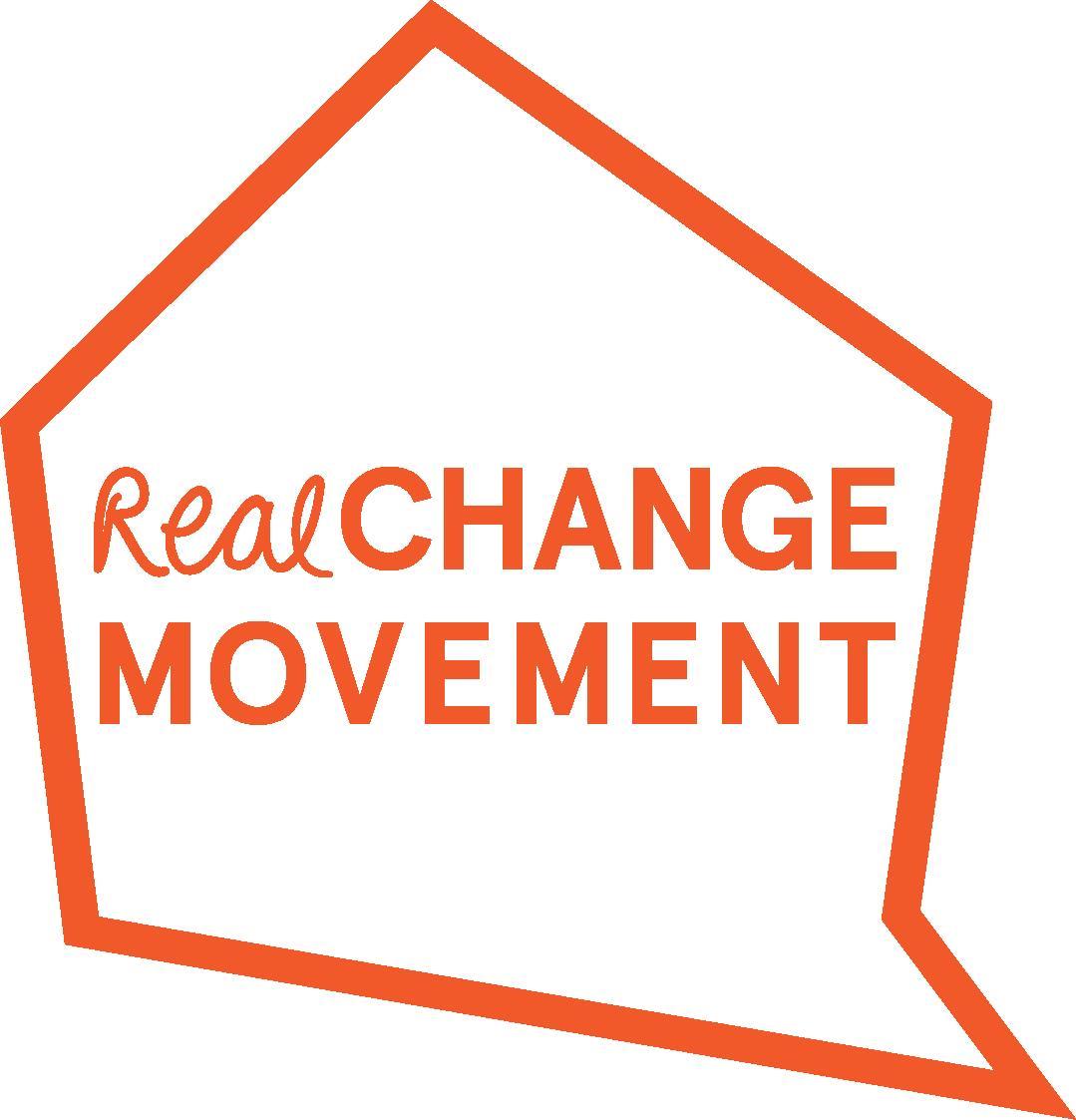 Real Change logo
