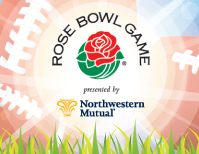 Rose Bowl Game Football Clinic logo