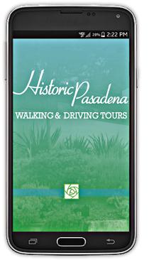 Historic Pasadena Walking and Driving Tours Mobile App image