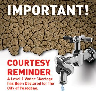 Level 1 Water Shortage Warning