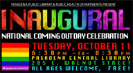 National Coming Out Day graphic