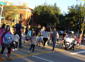 Walk to School Day 2016