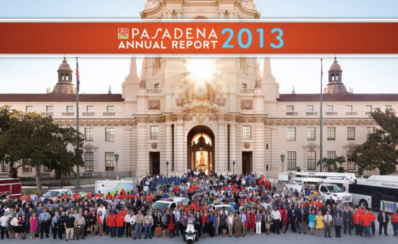 City of Pasadena 2013 Annual Report graphic