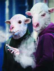 Goats Smoking