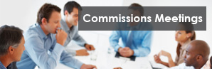 Commission and Committee Meetings graphic
