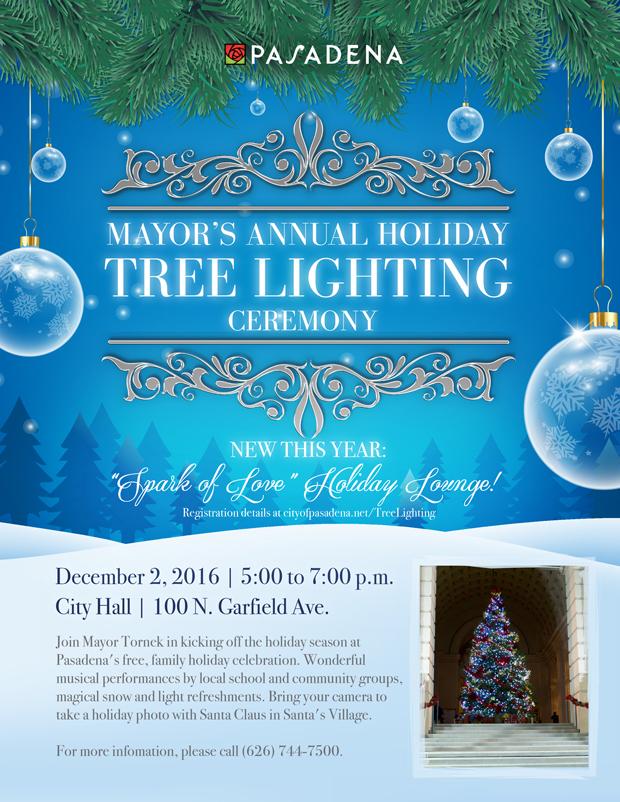 Mayors Annual Tree Lighting Ceremony