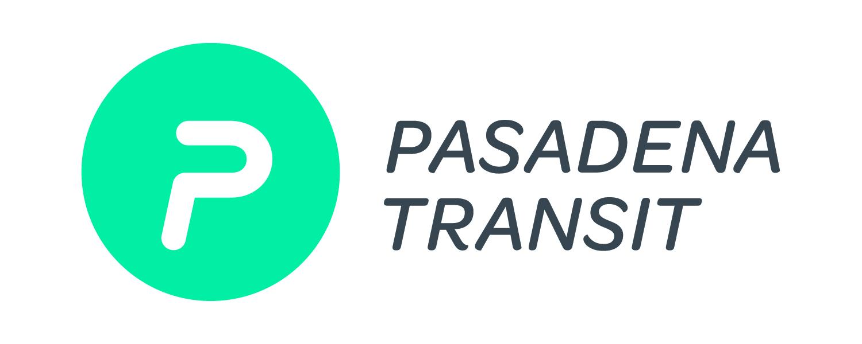 Logo for Pasadena Transit public bus system