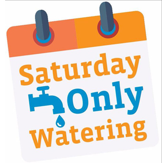 Saturday Only Watering