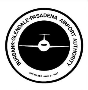 Logo for the Burbank Glendale Pasadena Airport Authority