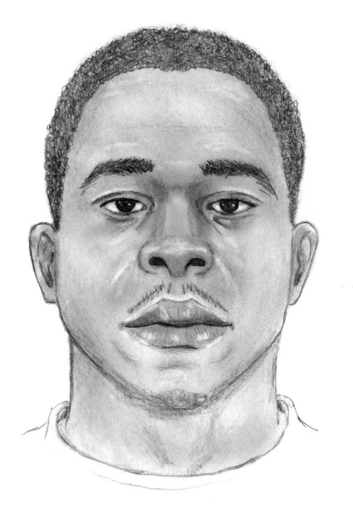 Sketch of double homicide suspect