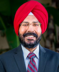 Photos of Mr. Gurcharan Bawa, the new General Manager of the City's Water and Power Department