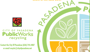 Logo for the Public Works Department Recycling Program