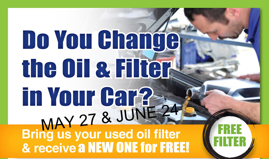 Oil Filter Exchange wide
