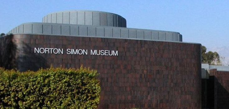 Norton Simon Museum Building with Sign
