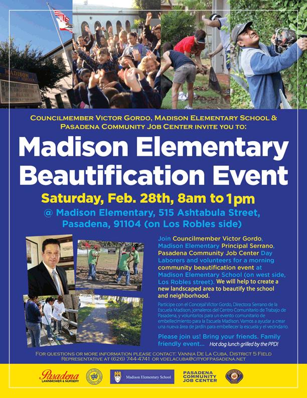 PDF - Madison Elementary Beautification Event - February 28, 2016