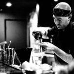 Old Pasadena - Bartender Pouring Drink