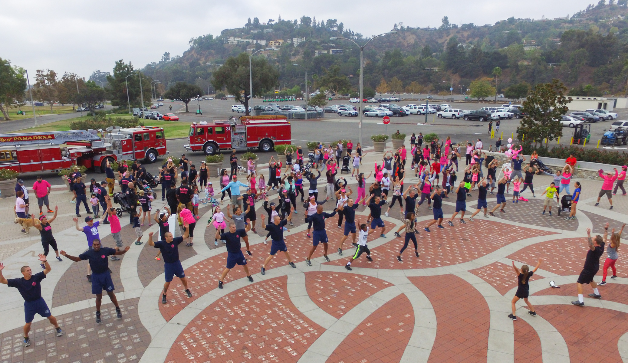 Pasadena Fire Department Goes Pink Event 10-02-2016_1007