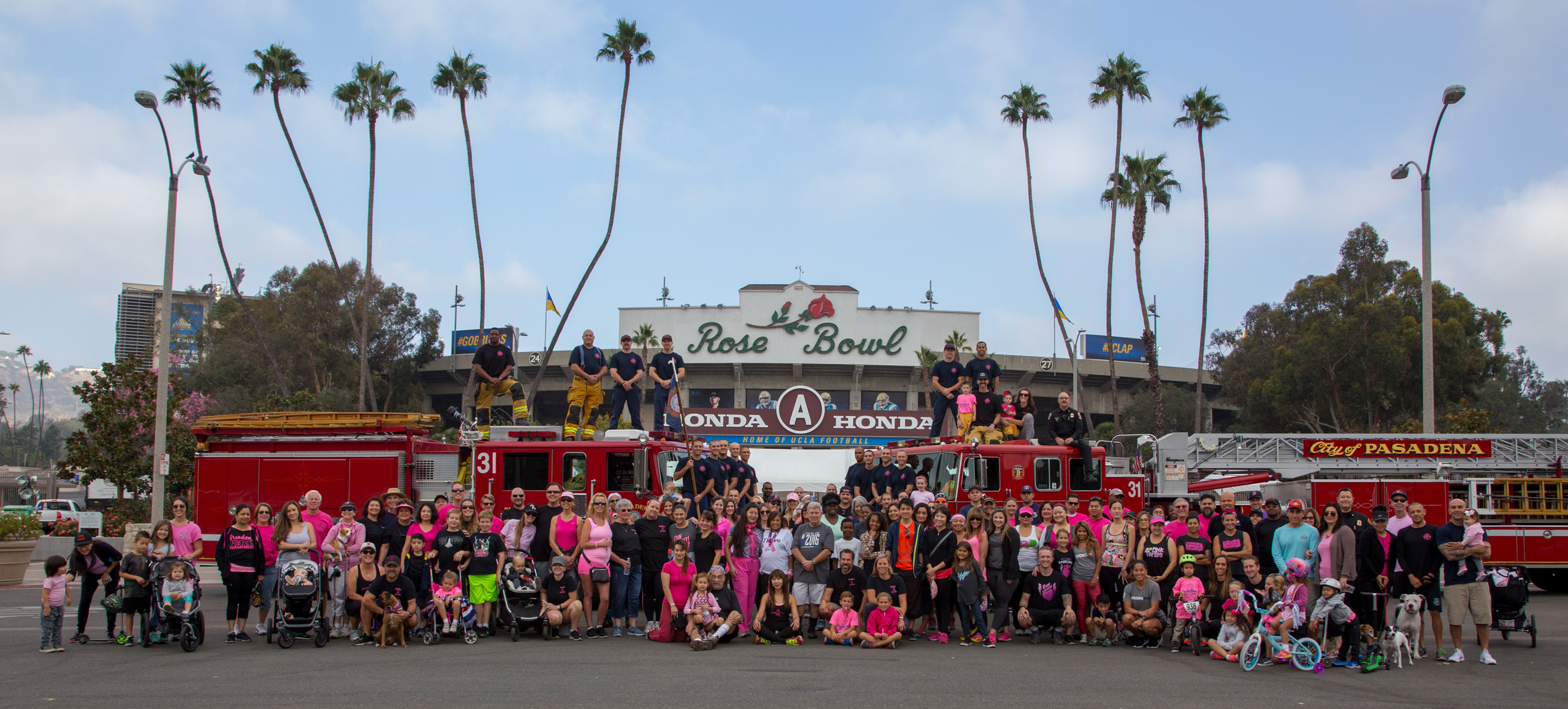 Pasadena Fire Department Goes Pink Event 10-02-2016