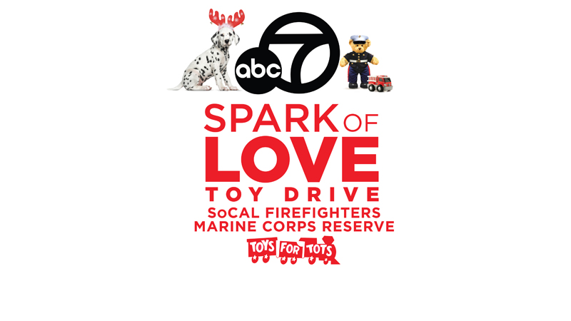 Spark of Love 2016 Toy Drive