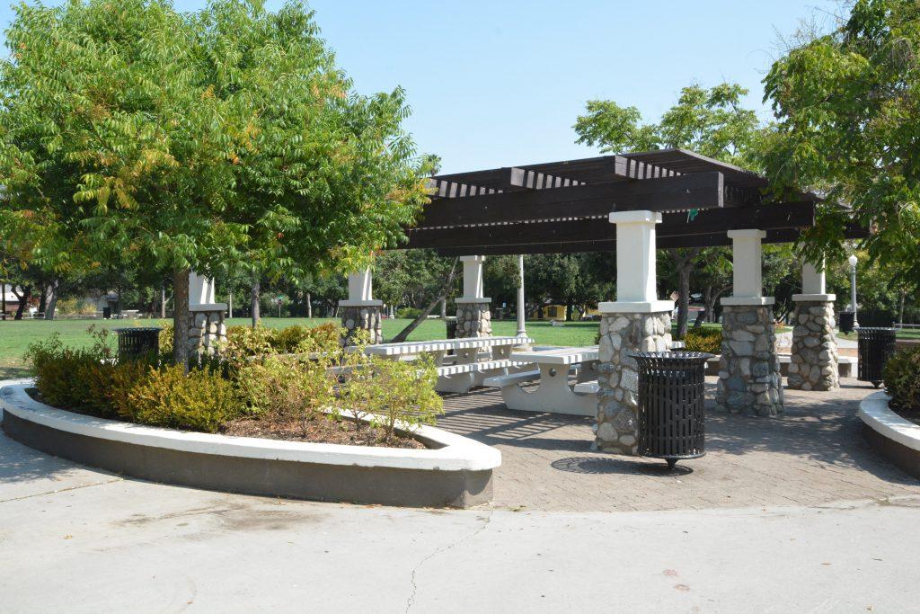 Image of a picnic shelter at Mcdonalds Park