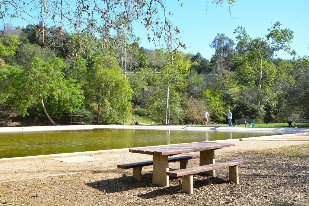 Image of picnic area at Lower Arroyo Seco Park