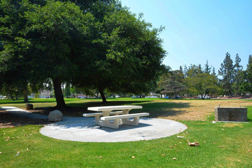 Image of picnic area at Gwinn Park