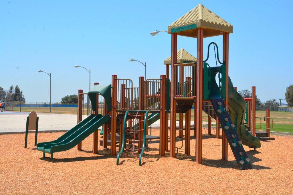 Image of playground at Hamilton Park