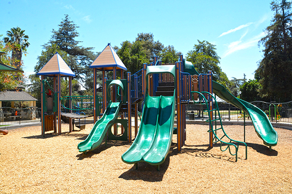 Image of playground at Washington Park
