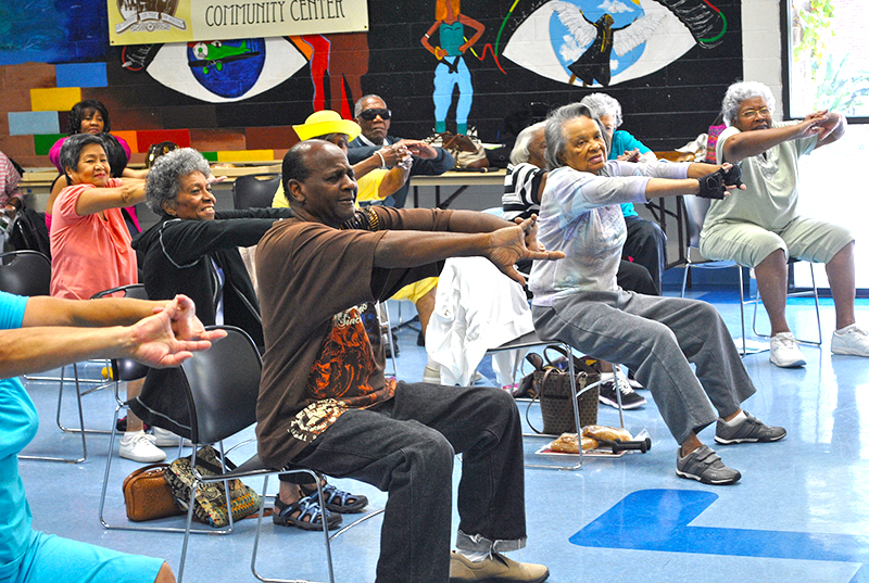 Senior Camp at Jackie Robinson Community Center