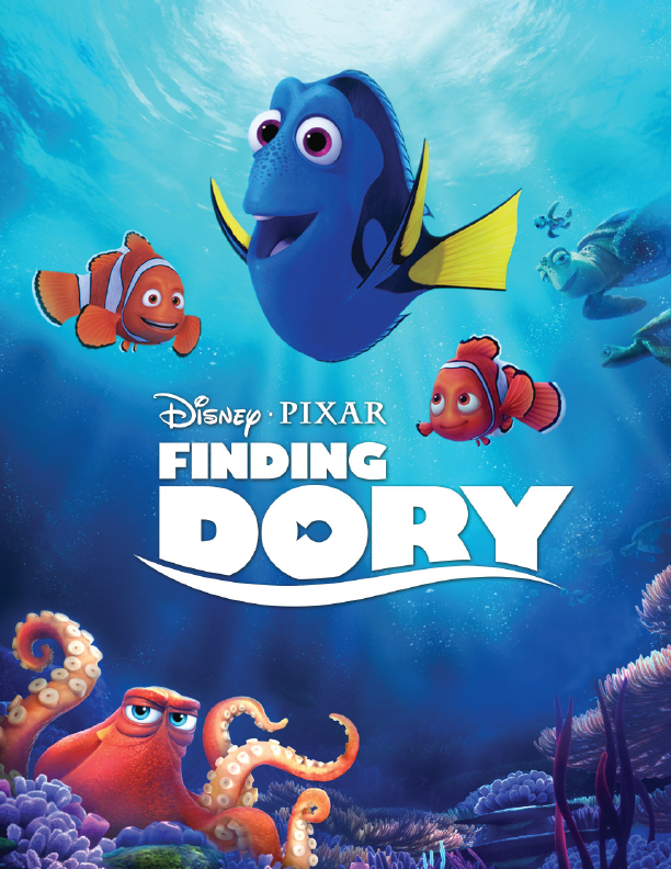 Finding Dory Graphic