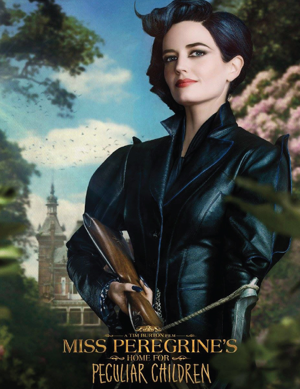 Miss Peregrine's Home For Peculiar Children Movie Graphic