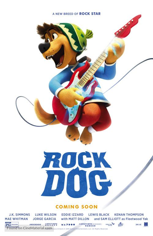 Image of Rock Dog Movie Graphic