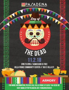 Day of the dead flyer 2018