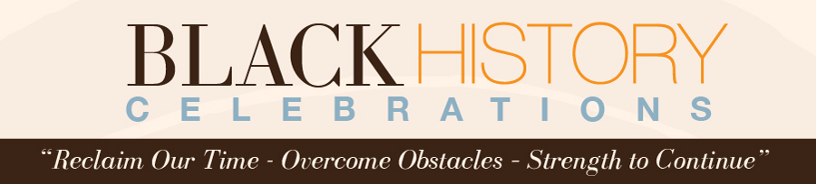Black History Celebrations 2017 banner graphic