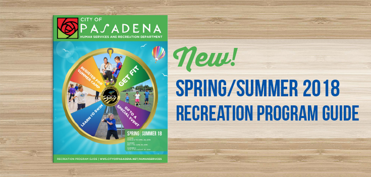 Spring/Summer 2018 Recreation Program Guide Cover