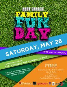 Family Fun Day 2018 flyer