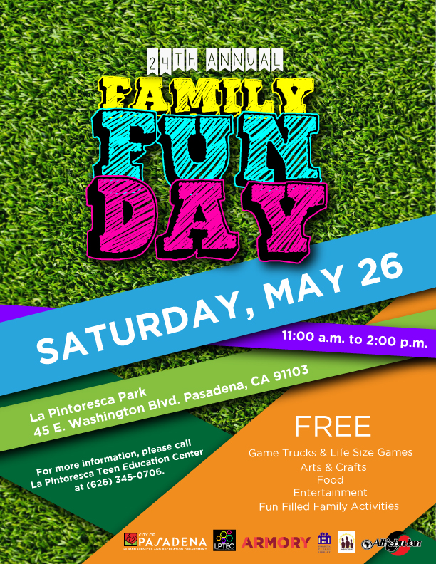 Family Fun Day 2018 flyer